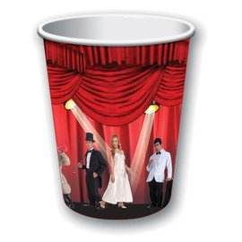 Forum Novelties At The Movies 9 oz. Paper Cups, 8 pcs
