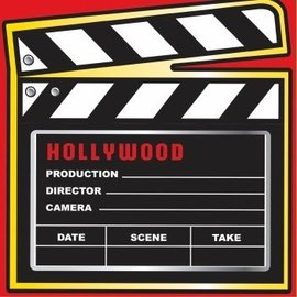 """Forum Novelties At The Movies 13"""" Napkins - 16 Pack"""
