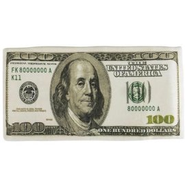 Rinco Plush $100 Bill - 11""