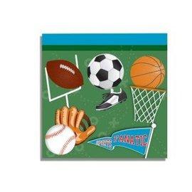 "Forum Novelties Sports 10"" Napkins - 16 Pack"