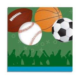 "Forum Novelties Sports 13"" Napkins - 16 Pack"