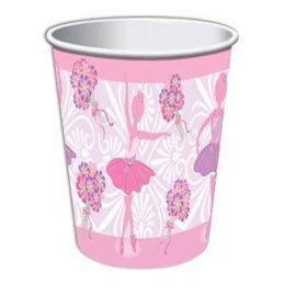 Forum Novelties Ballerina 9 oz. Paper Cups, 8 pcs