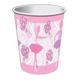 Forum Novelties Ballerina 9 oz. Paper Cups, 8 pcs