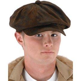 Elope Steampunk Driver Brown Suede Hat