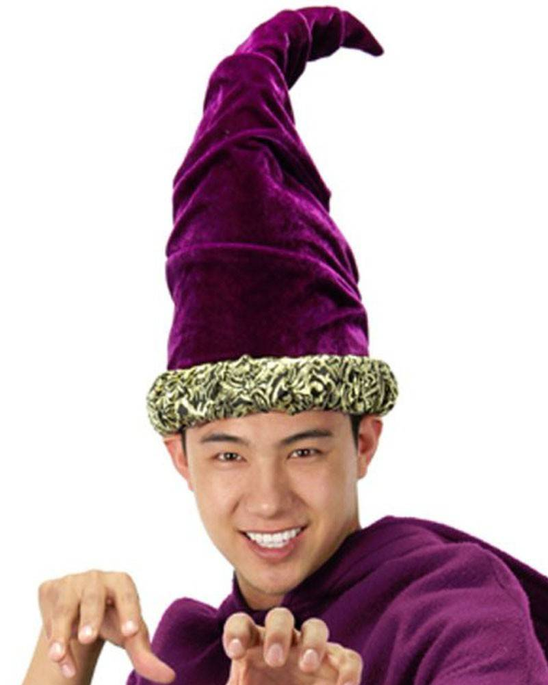 Fancy Purple Wizard Hat - Ronjo Magic, Costumes and Party Shop