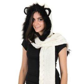 Elope Panda Knitted Hood