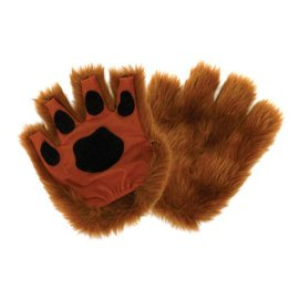 Elope Fingerless Paws, Brown