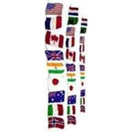 Funtime Magic Silk - Production String Of Flags,  Large