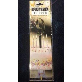 Forum Novelties Number Topper #9 - Gold