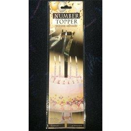 Forum Novelties Number Topper #7 - Gold