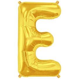 """Conver USA Letter E Gold 34"""" Balloon"""