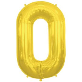 "Conver USA Letter O Gold 34"" Balloon"