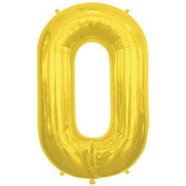 """Conver USA Letter O Gold 34"""" Balloon"""
