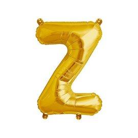 """Conver USA Letter Z Gold 34"""" Balloon"""