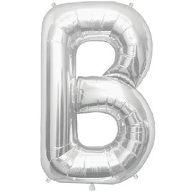 "Conver USA Letter B Silver 34"" Balloon"