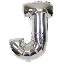 """Conver USA Letter J Silver 34"""" Balloon"""