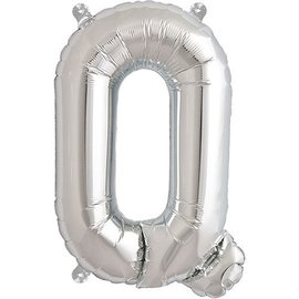 "Conver USA Letter Q Silver 34"" Balloon"