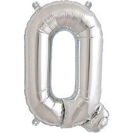 "Conver USA Letter Q Silver 34"" Balloon"