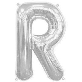 """Conver USA Letter R Silver 34"""" Balloon"""