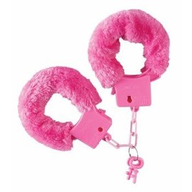 Forum Novelties Pink Fuzzy Handcuffs