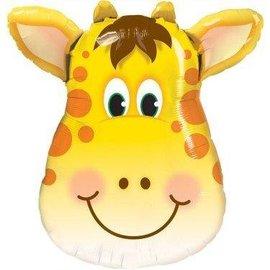 """Qualatex Giraffe Balloon 32"""""""