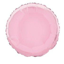 """Anagram Pastel Pink Round Foil Balloon 18"""""""