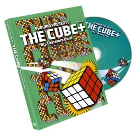 World's Magic Shop The Cube Plus, Gimmicks & DVD by Takamitsu Usui