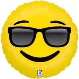 Betallic Inc. Sunglasses Emoji Balloon 18""