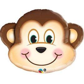 "Qualatex Monkey Balloon 35"""
