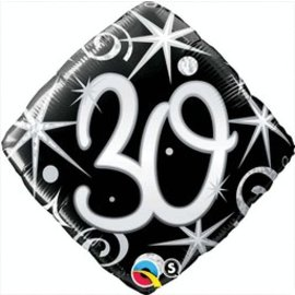 Qualatex 30th Birthday Balloon 18""