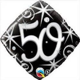 """Qualatex 50th Birthday Balloon 18"""""""
