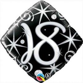 """Qualatex 18th Birthday Balloon 18"""""""