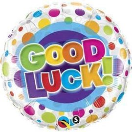 Qualatex Good Luck Balloon 18""