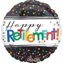 """Anagram Happy Retirement Balloon 17"""""""