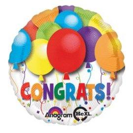 """Anagram Congrats Balloon 17"""""""