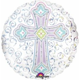 Anagram Radiant Cross Balloon 18""