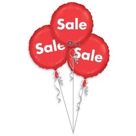 Anagram Sale Balloon - 3 Pack 18""