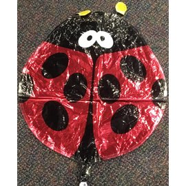 M&D Balloons Lady Bug Large Foil Balloon 18""