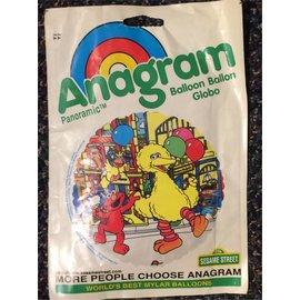 """Anagram Sesame Street Balloon 18"""""""