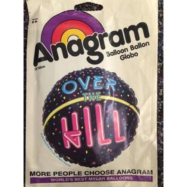 """Anagram Over the Hill Balloon 18"""""""