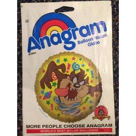 "Anagram Tasmanian Devil Balloon 18"""
