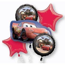 Anagram Cars Foil 5 Balloon Bouquet