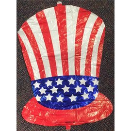 Betallic Inc. Uncle Sam Hat Balloon 33""
