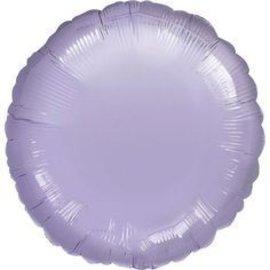 "Pastel Purple Round Foil Balloon 32"""