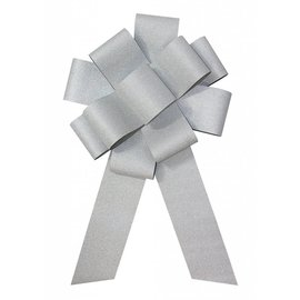 SKD Party by Forum 25 inch Car Bow, Holographic Silver (/212)