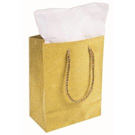SKD Party by Forum Diamond Gift Bag, Gold
