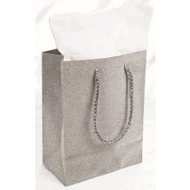 SKD Party by Forum Diamond Gift Bag, Silver