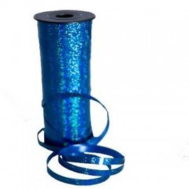 SKD Party by Forum Curling Ribbon, Blue - Holographic 100 feet (/238)