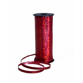 SKD Party by Forum Curling Ribbon, Red - Holographic 100 feet (/238)