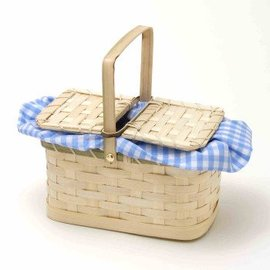 Forum Novelties Basket Handbag